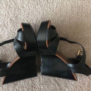 Ralph Lauren Shoes - Ralph Lauren black wedges